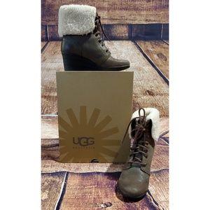 Authentic UGG Waterproof Wedge Boots
